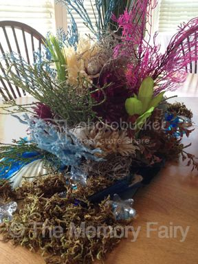 Ocean-Reef Centerpiece image © 2012 The Memory Fairy