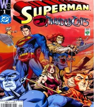 Thunder Cats Sign on Los Thundercats Jpg Portada Del Comic  Superman Y Los Thundercats